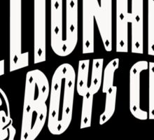 Billionaire Boys Club Logo Black Sticker