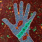 Paint My Hand 22 by LESLEY B