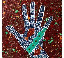Paint My Hand 22 Photographic Print