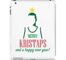 Merry Kristaps iPad Case/Skin