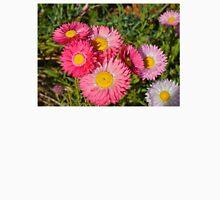 Pink Everlasting Wildflowers Unisex T-Shirt