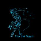 Into the Future (with dots) by ElysianImagery