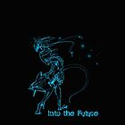 Into the Future Phone Case by ElysianImagery
