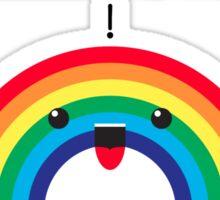 I <3 Rainbow - Invalid Sticker