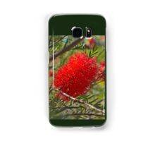 Red Bottle Brush Samsung Galaxy Case/Skin