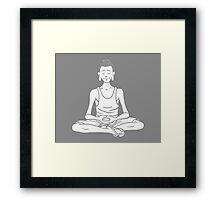 Everyone is Buddha! - Simple Tribe Framed Print