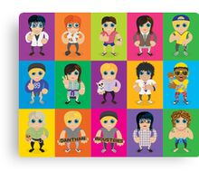 Lil' Lilley All Characters  Canvas Print