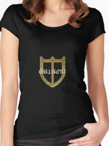 Final Fantasy XIV : Paladin Women's Fitted Scoop T-Shirt