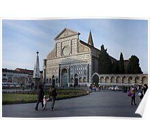 Piazza Santa Maria Novella(Firenze/Italy) Poster