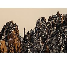 winter,  Huang Shan  Photographic Print