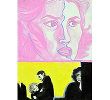 Audrey Horne in Pastel - Twin Peaks Photographic Print