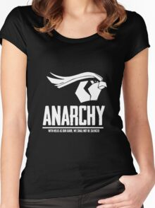 Anarchy Women's Fitted Scoop T-Shirt