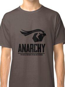 Anarchy (Black Text) Classic T-Shirt