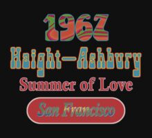 1967 Haight Ashbury - Summer of Love in San Francisco by DarkVotum