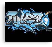 Tyler Streetwear Graffiti Burner Canvas Print