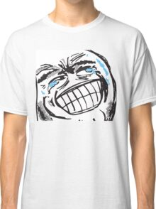 Big Grin (Grinface) - NEVER EVER - Epic lulz guy Classic T-Shirt