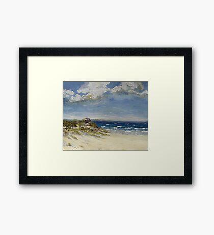Dune Landscape Framed Print