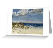Dune Landscape Greeting Card