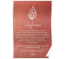 Affirmation - Enlightenment Poster