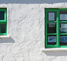 Gweedore Window by Mickey Rooney