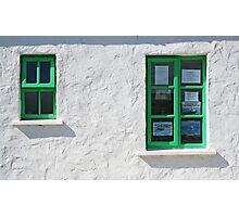 Gweedore Window Photographic Print
