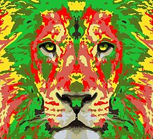 Rasta Lion by AxerLopdan