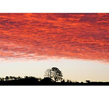 Morning Sky Photographic Print