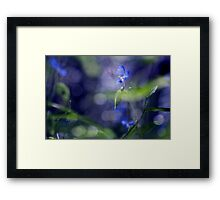 Once upon a morning Framed Print