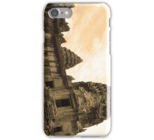 Angkor view (sepia) iPhone Case/Skin