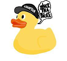 Duck Tha Police! Photographic Print