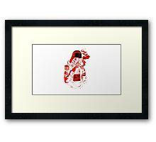 Spark Vader Framed Print