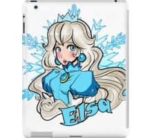 Princess Elsa & Princess Peach Mashup iPad Case/Skin