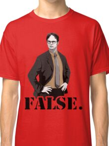 The Office|Dwight|Flase Classic T-Shirt