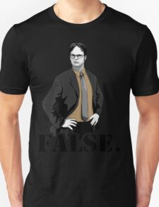 The Office|Dwight|Flase T-Shirt
