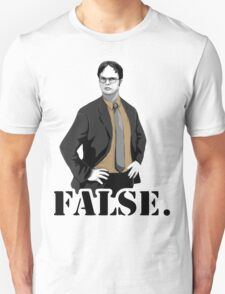 The Office|Dwight|Flase Unisex T-Shirt
