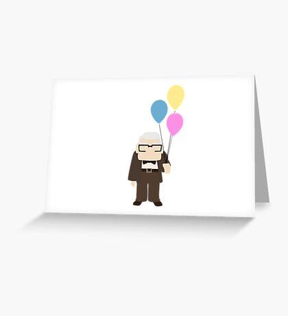 Carl- Up Greeting Card