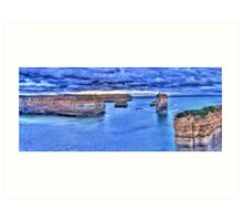 Loch Ard Gorge panorama Art Print