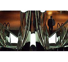 Escalators Photographic Print
