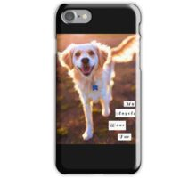 """My Angels Wear Fur"" iPhone Case/Skin"