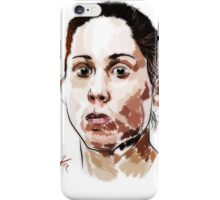 Liz Carmouche iPhone Case/Skin