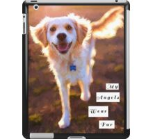 """My Angels Wear Fur"" iPad Case/Skin"
