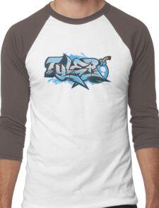 Tyler Streetwear Graffiti Burner Men's Baseball ¾ T-Shirt