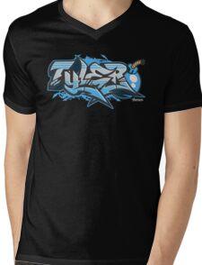 Tyler Streetwear Graffiti Burner Mens V-Neck T-Shirt