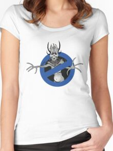 Who you gonna call? - Mass Effect 3 Banshee Women's Fitted Scoop T-Shirt
