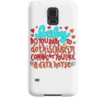 Dark Horse Lyric Drawing Samsung Galaxy Case/Skin
