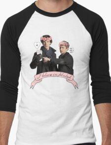 I believe in Johnlock Men's Baseball ¾ T-Shirt