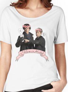 I believe in Johnlock Women's Relaxed Fit T-Shirt