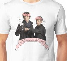 I believe in Johnlock Unisex T-Shirt