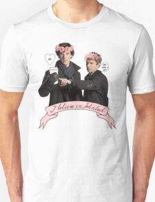 I believe in Johnlock T-Shirt
