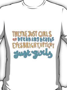 Girls Lyric Drawing T-Shirt